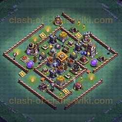 Builder Hall 7 - Anti 2 Stars Base!