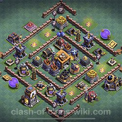 Top Builder Hall Level 7 Base Layouts With Links For Coc Clash Of Clans 2021 Bh7