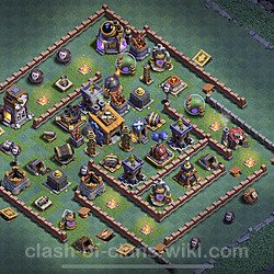 Best Builder Hall Level 8 Base with Link - Clash of Clans 2020 - BH8 Copy - (#12)