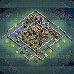 Builder Hall 9 Base - Best Layout - Anti 3 Stars
