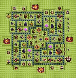 Base plan (layout), Town Hall Level 10 for farming (#1)