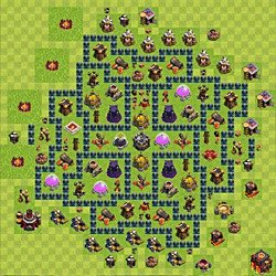 clash of clan aigle artilleur