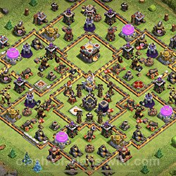 Best TH11 Base Layouts with Links 2020 - Copy Town Hall Level 11 COC Bases