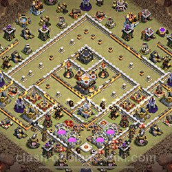 Base plan (layout), Town Hall Level 11 for clan wars (#50)