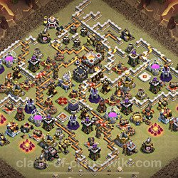Base plan (layout), Town Hall Level 11 for clan wars (#54)
