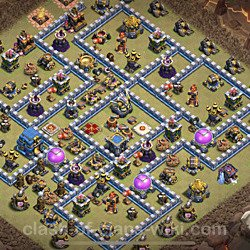 Base plan (layout), Town Hall Level 12 for clan wars (#26)