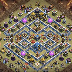 Base plan (layout), Town Hall Level 12 for clan wars (#3)