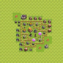 clash of clans rathaus 10 base 2019