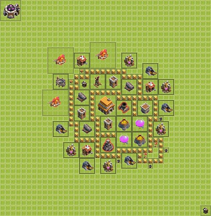 Coc rh 5 base