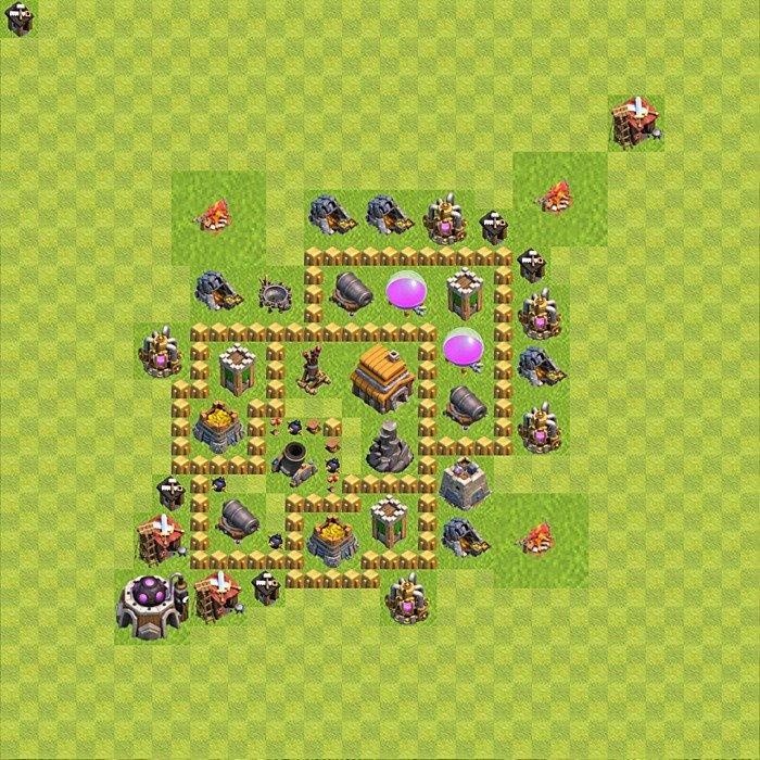 Clash clans тх 5 кубки