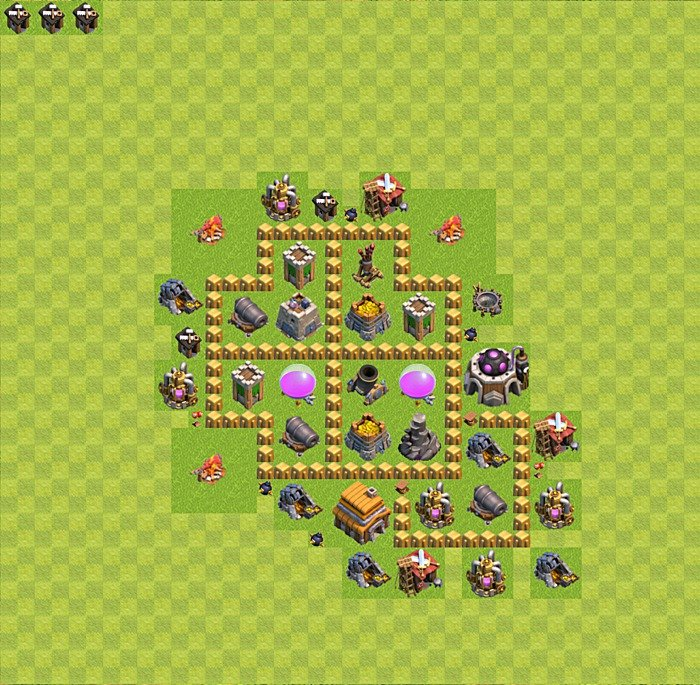 farming base plan layout design th 5 clash of clans town