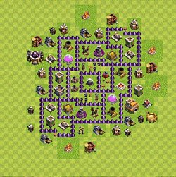 Base plan (layout), Town Hall Level 7 for farming (#147)