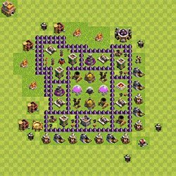 Base plan (layout), Town Hall Level 7 for farming (#149)