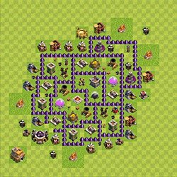 Base plan (layout), Town Hall Level 7 for farming (#150)