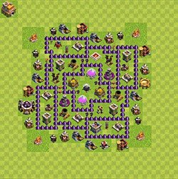 Base plan (layout), Town Hall Level 7 for farming (#151)