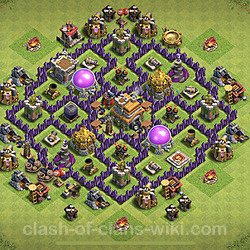 Base plan (layout), Town Hall Level 7 for farming (#156)