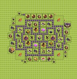 Town hall level 8 7 farming clash of clans wiki apps directories