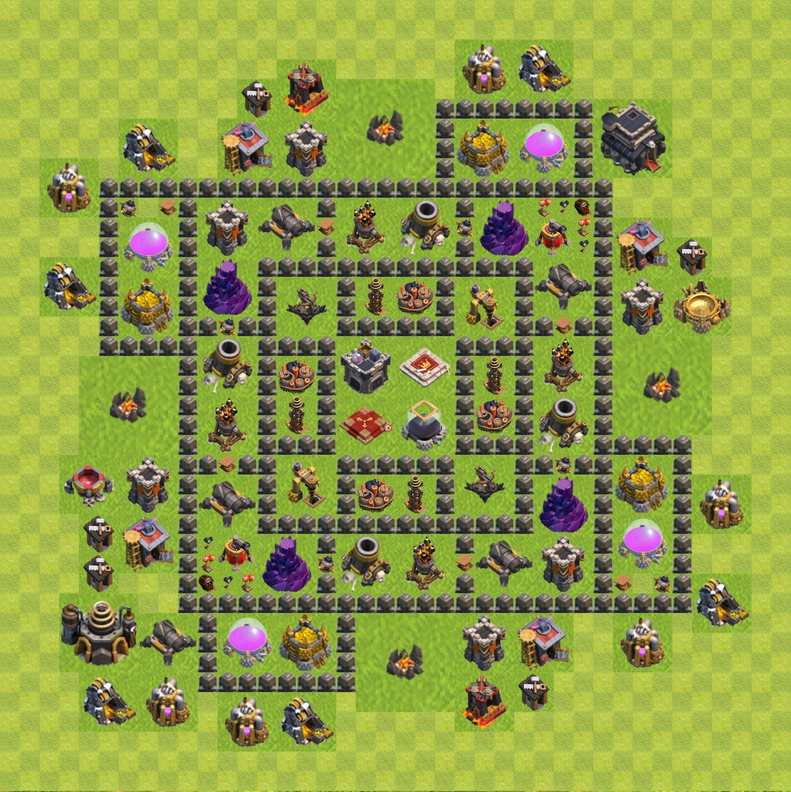 мод на майнкрафт 1.6.4 clash of clans #11